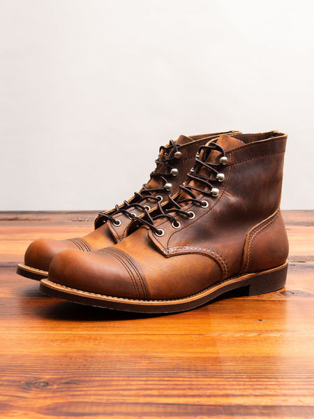 8085 Iron Ranger Boot in Copper Rough & Tough