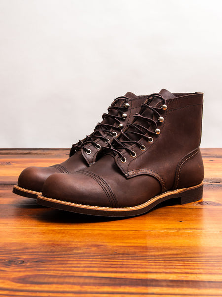 8111 Iron Ranger Boot in Amber