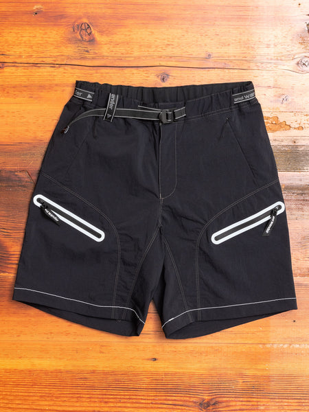 Trek Shorts in Black