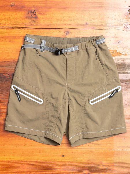 Trek Shorts in Khaki