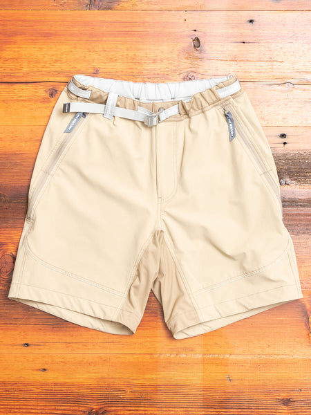 Trek Shorts in Beige