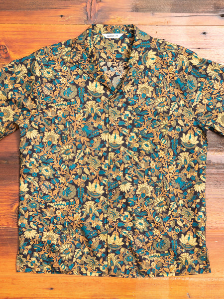 Floral Leisure Shirt in Black