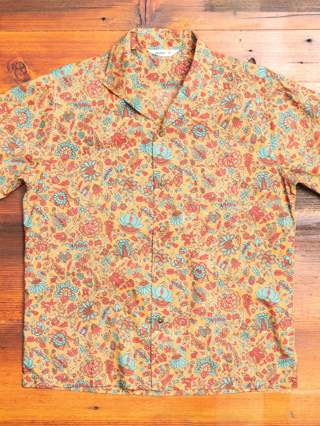 Floral Leisure Shirt in Sand