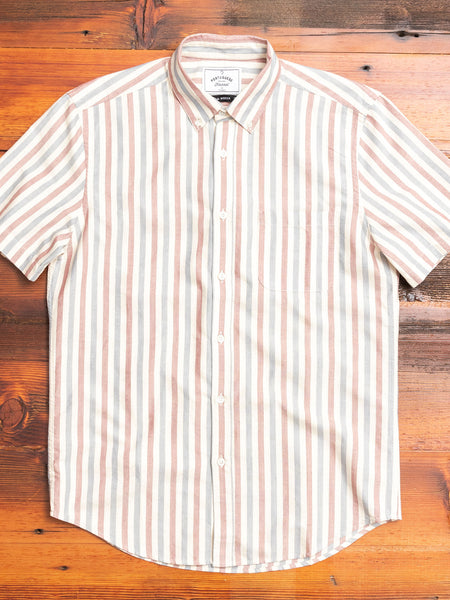 Long Island Button-Up Shirt in Red/Blue