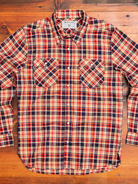 Lancaster Shirt in Vintage Plaid