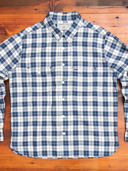 Mariner Shirt in Blue Plaid