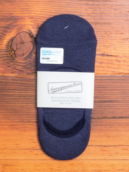 COOLMAX Loafer Sock in Navy