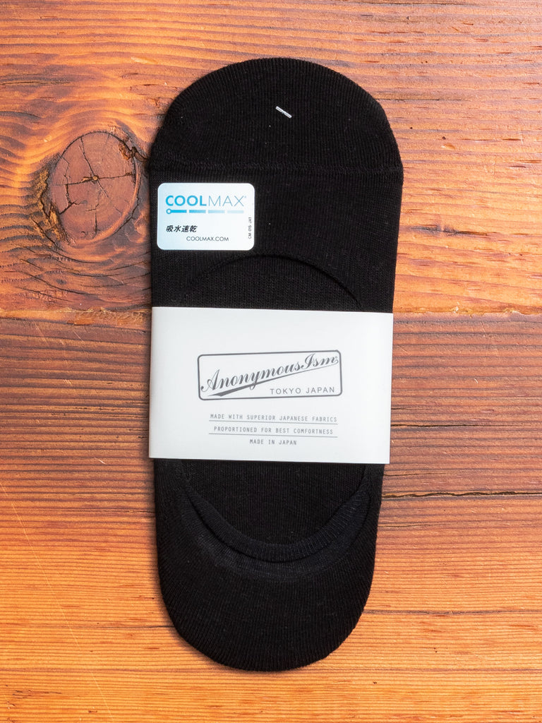 COOLMAX Loafer Sock in Black