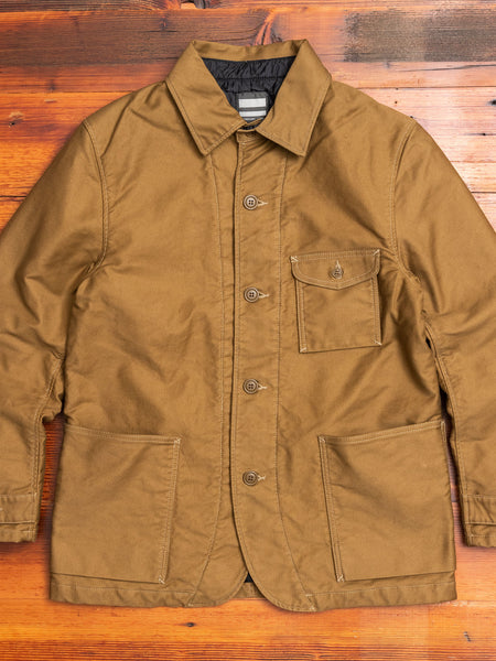 03-121 Military Coderane Coverall Jacket in Beige
