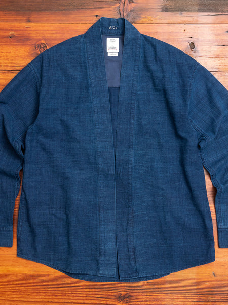 Lhamo Shirt in Blue Indigo