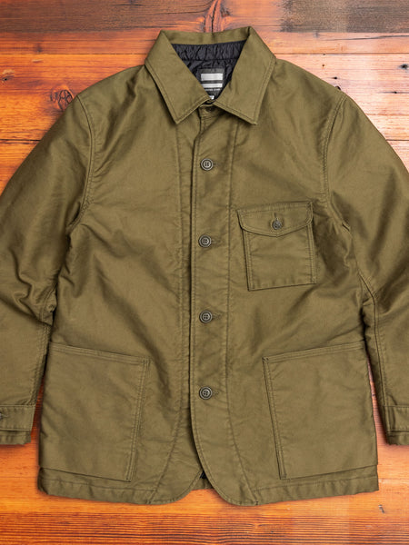 03-121 Military Coderane Coverall Jacket in Olive Drab
