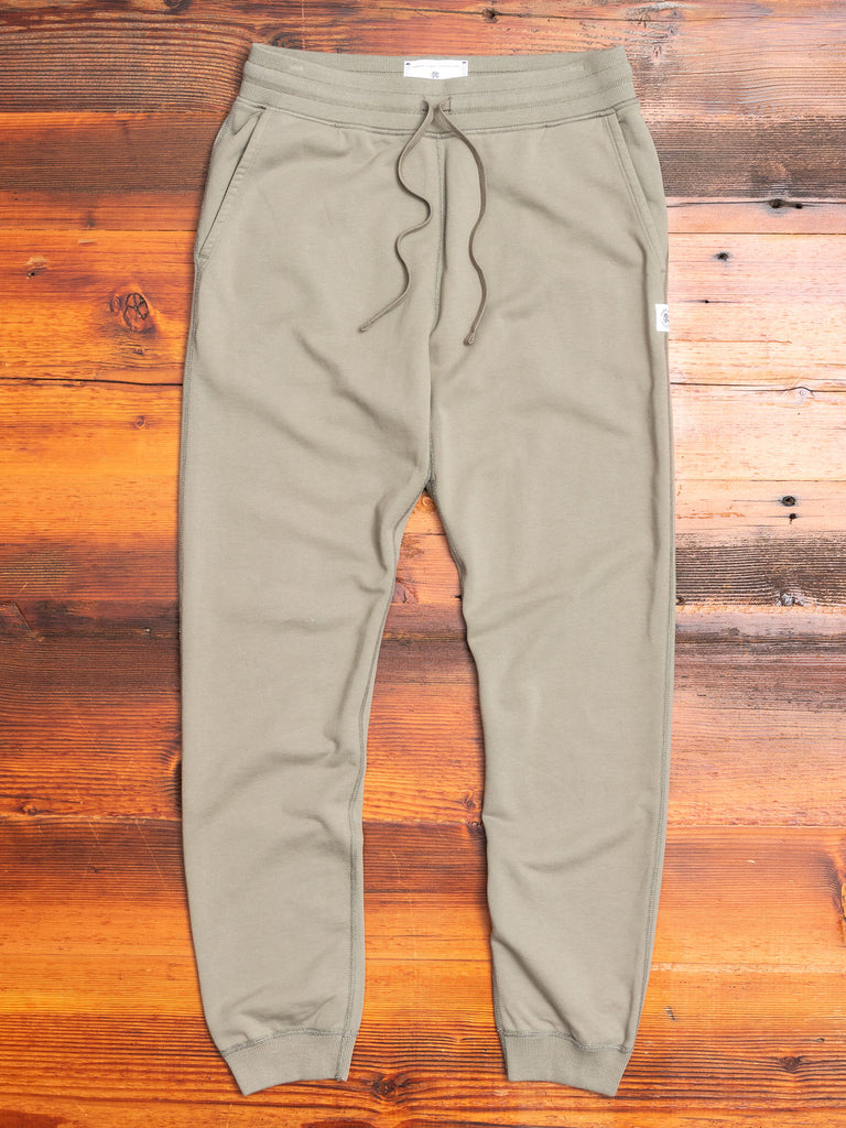 Slim Sweatpant in Sage
