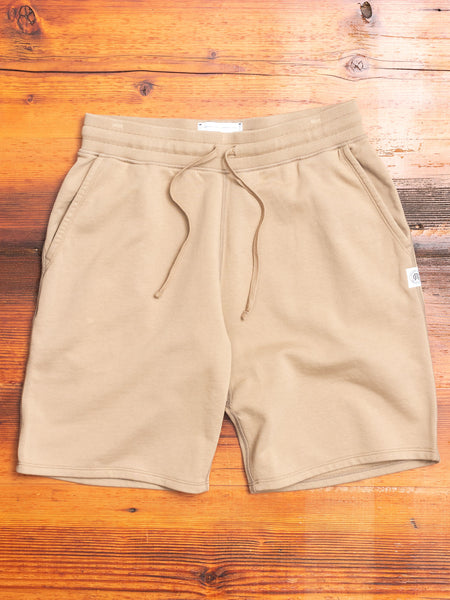Sweatshort in Khaki