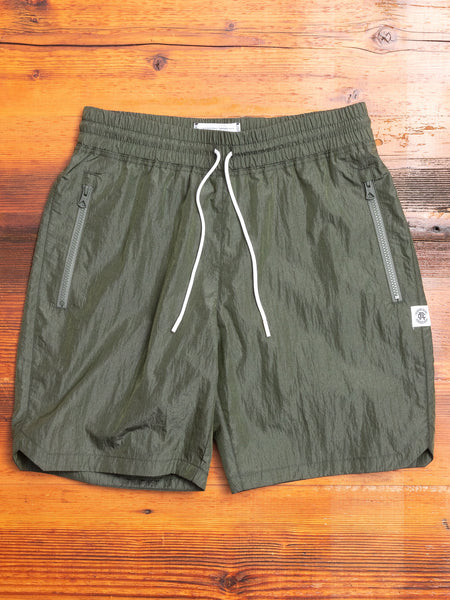 Classic Nylon Shorts in Sage