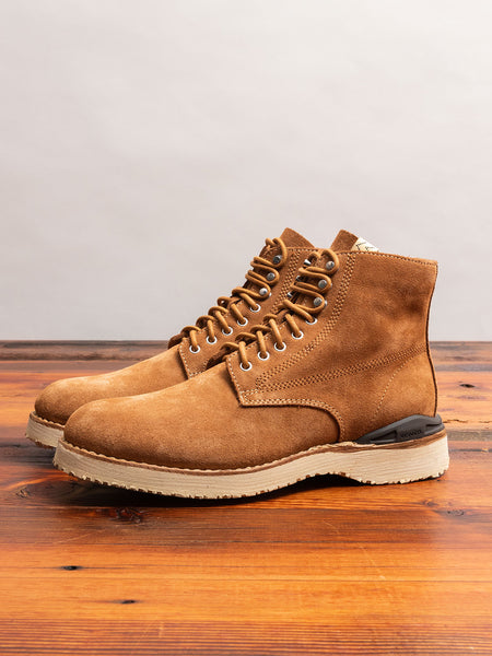 Virgil Boots-Folk in Brown Suede