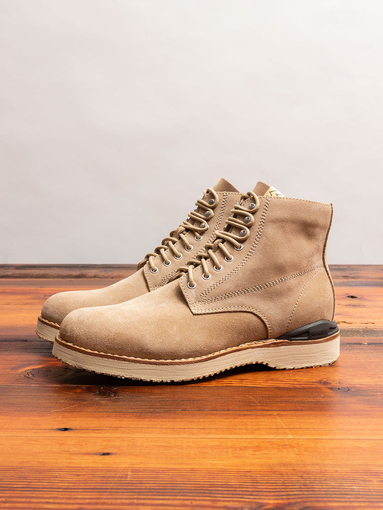 Virgil Boots-Folk in Sand Suede