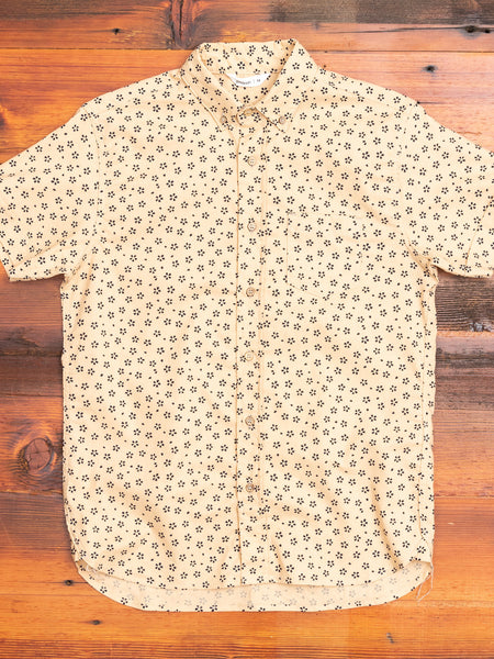 Sakura Button-Down Shirt in Tan