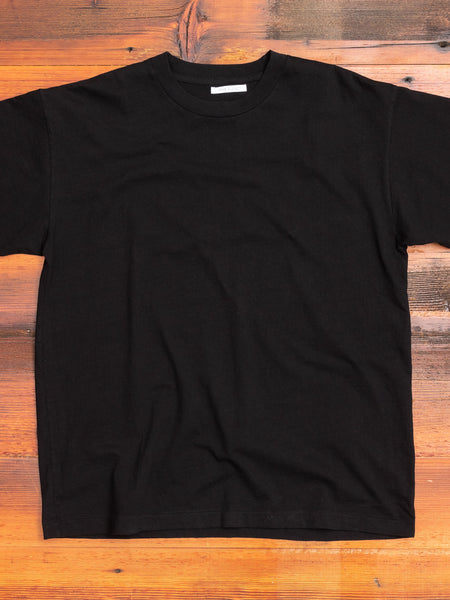 University T-Shirt in Black