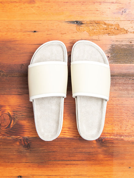 Caterpillar Sandal in White