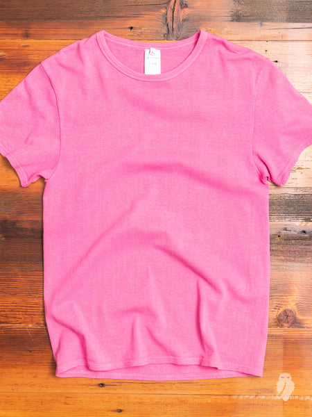 Natural Dyed T-Shirt in Pink