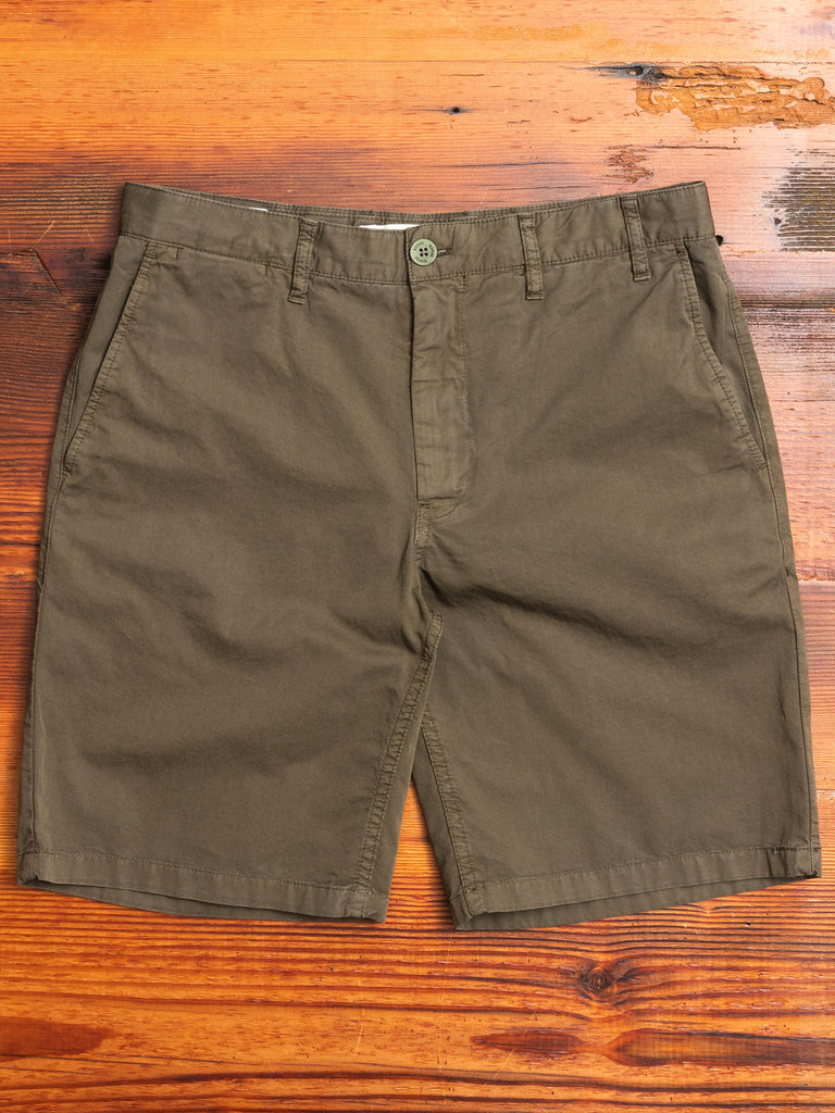 Aros Light Twill Shorts in Ivy Green