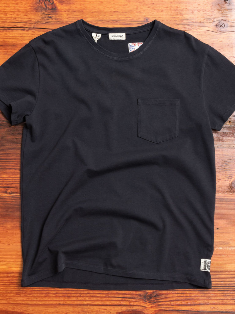 Wilson Pocket T-Shirt in Vintage Black