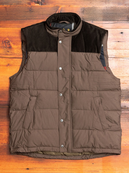 """Wisbech"" Gilet in Olive"