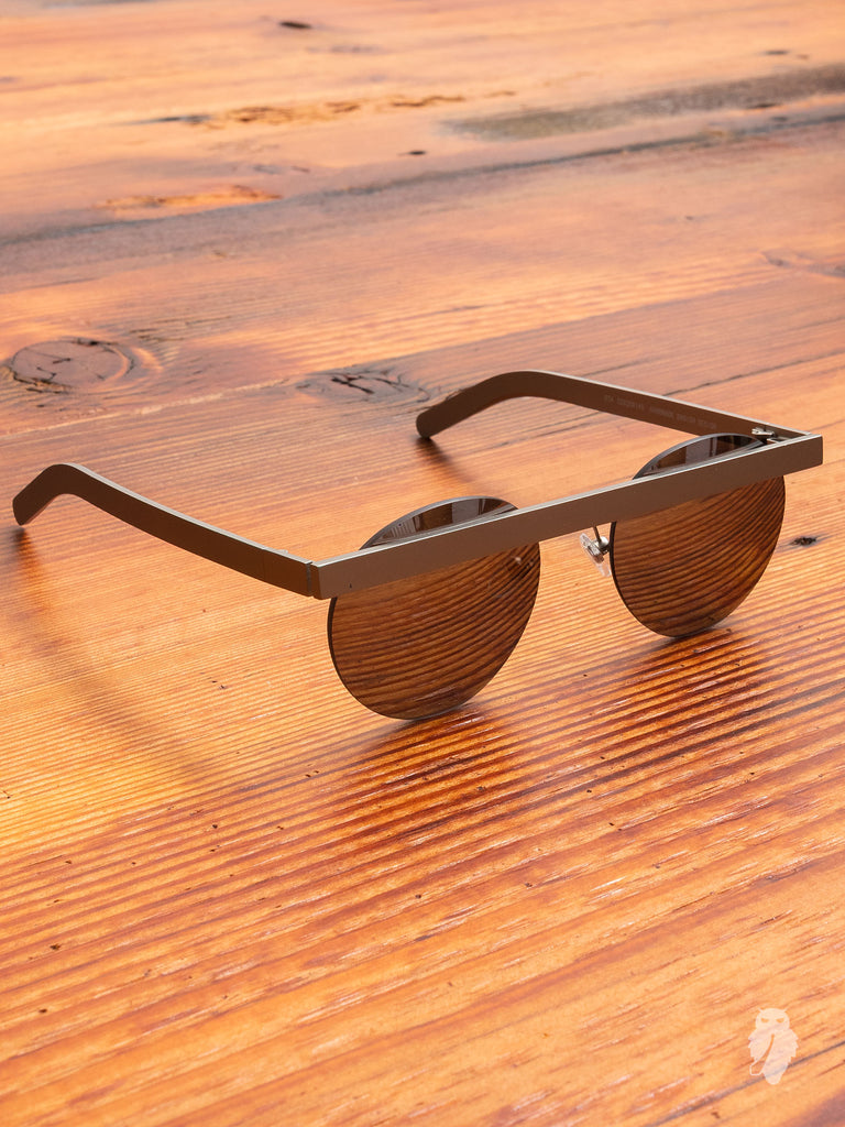 """Stable"" Sunglasses in Silver"