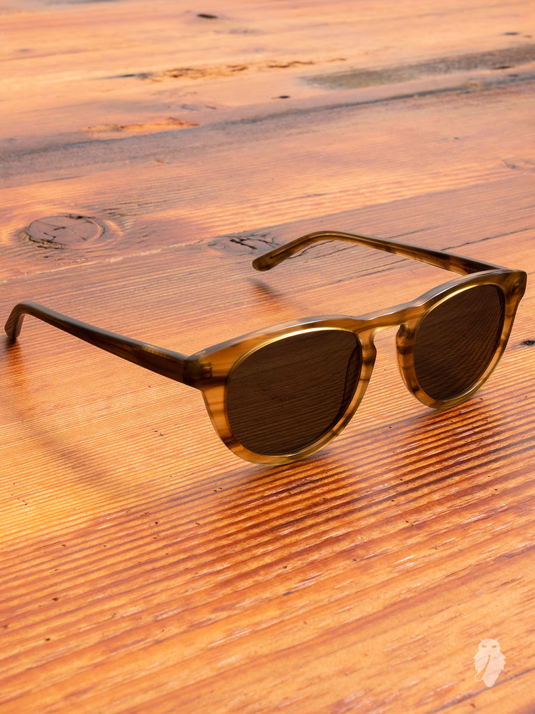 """Timeless"" Sunglasses in Horn"