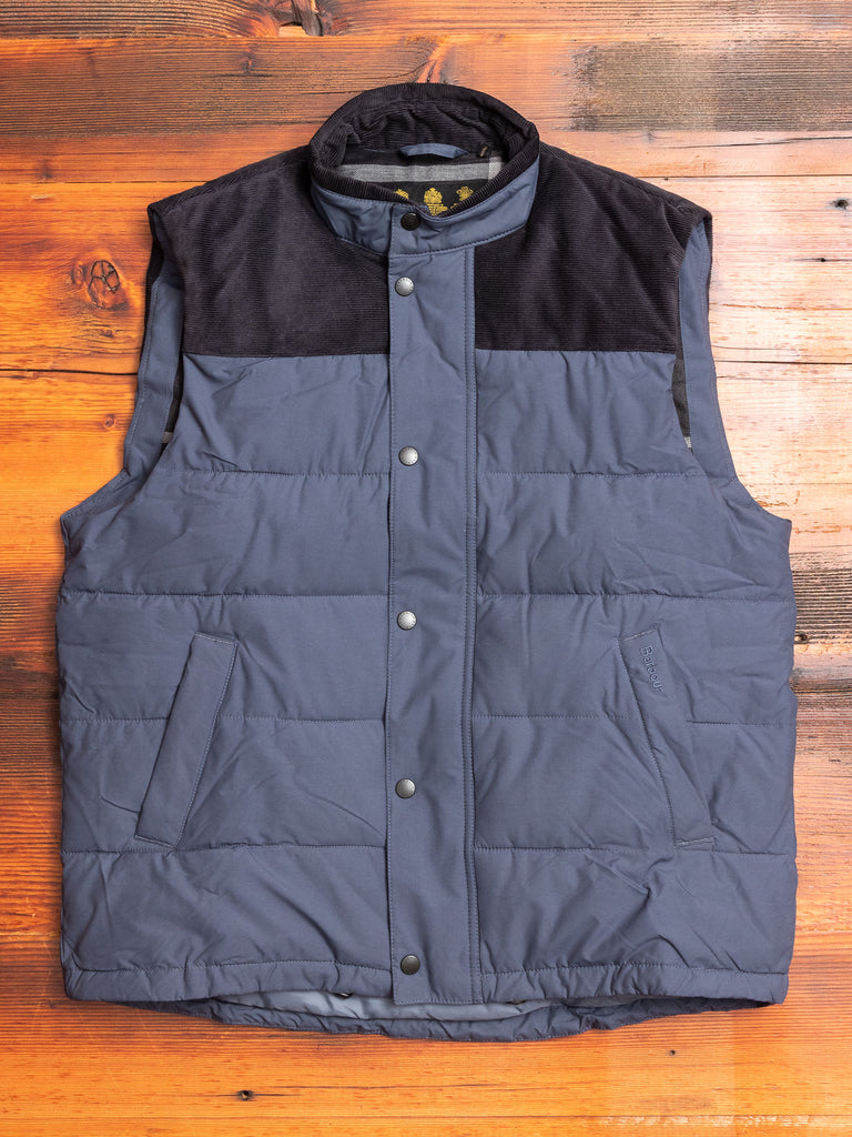 """Wisbech"" Gilet in Navy"