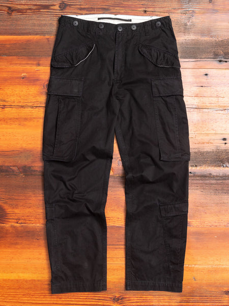 M52 Mutated Cargo Pants in Black