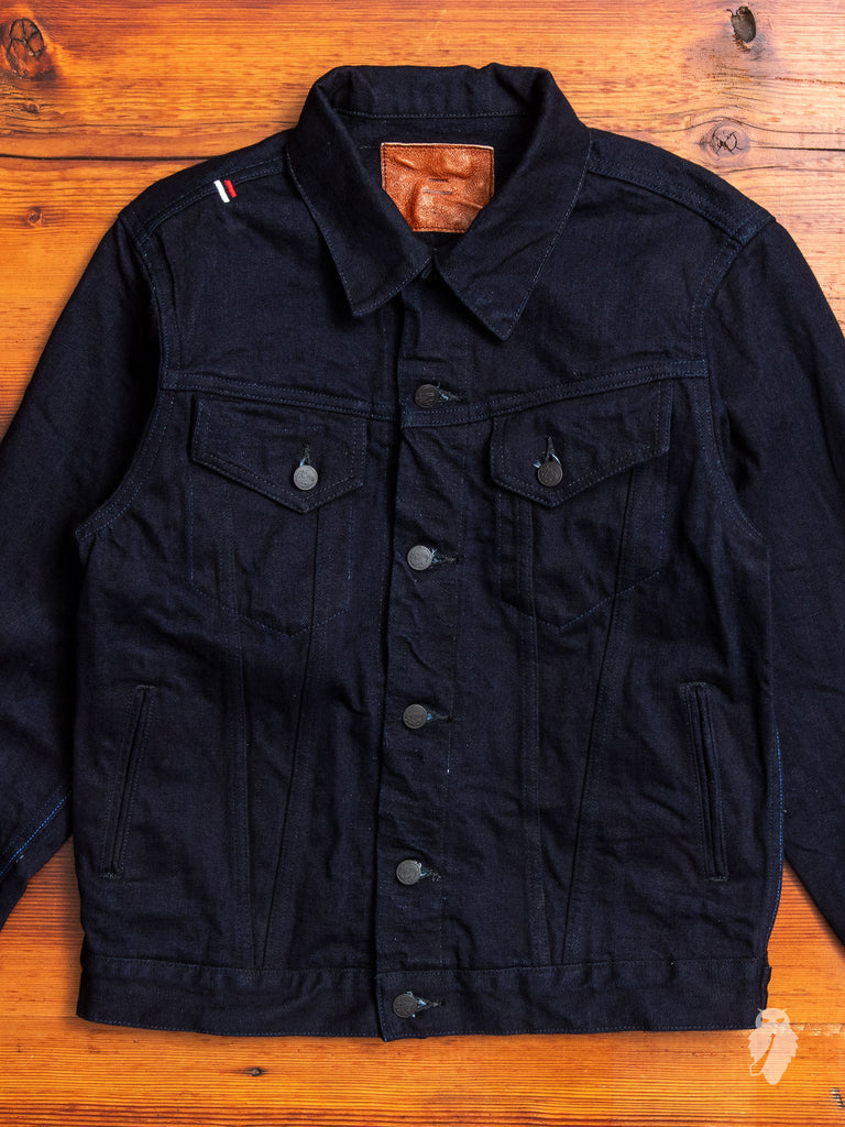 "IDJKT3 ""Double Indigo"" 15oz Selvedge Denim Jacket"