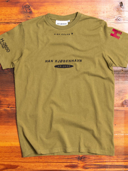 Casual T-Shirt in Olive