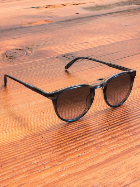 """Milwood"" Sunglasses in Indigo Tortoise"