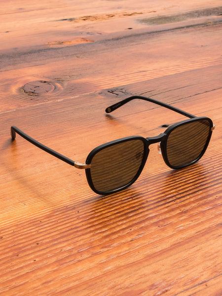 """Pier"" Sunglasses in Matte Black"