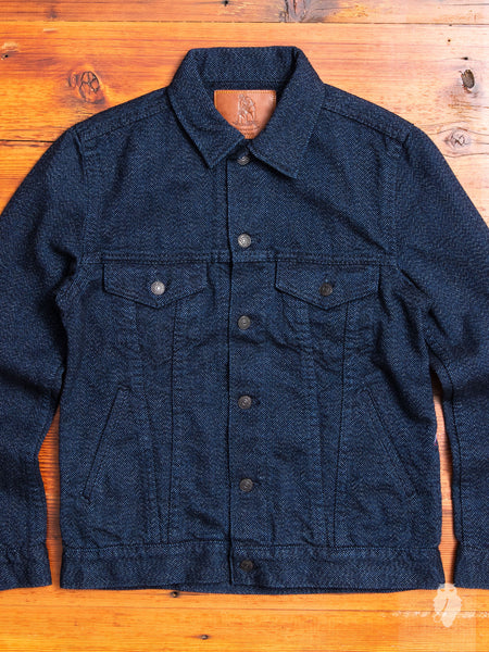 6091 Wool Type-3 Jacket in Indigo