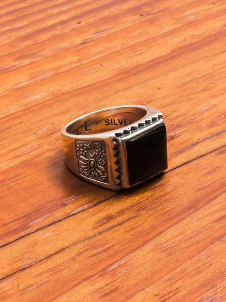 Buick Ring in Silver/Onyx