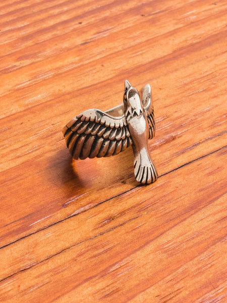 Eagle Ring in Silver