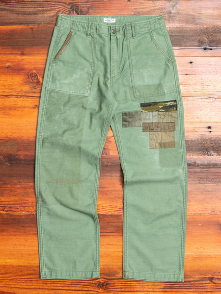 "Modern Military ""Revolve"" Baker Pants in Olive"