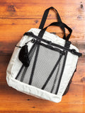 25L Tote Bag in White