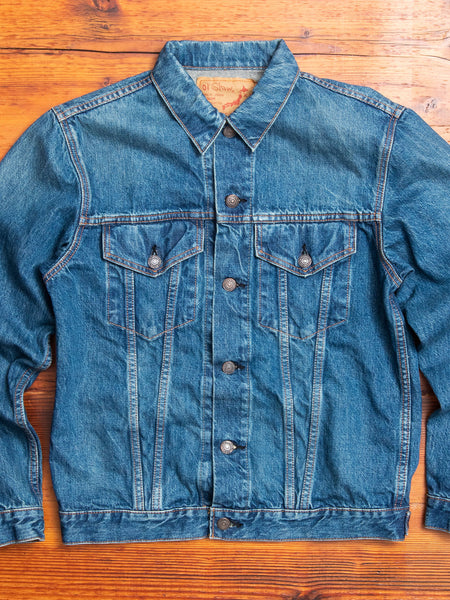 60's Denim Jacket in Vintage Indigo