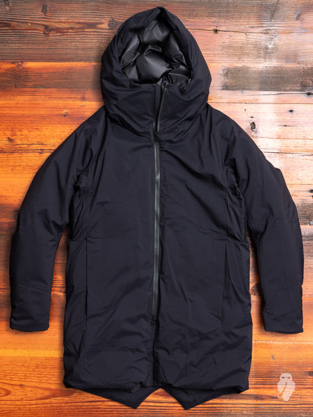 3-Layer Waterproof Down Long Coat