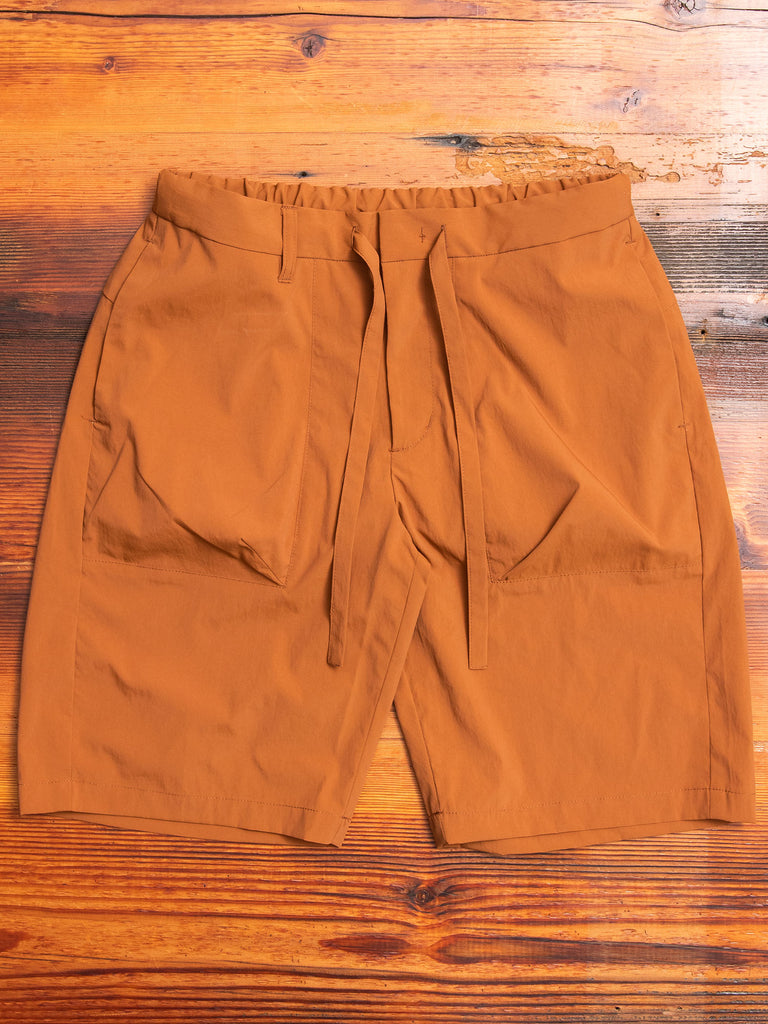 Relaxed Shorts in Orange