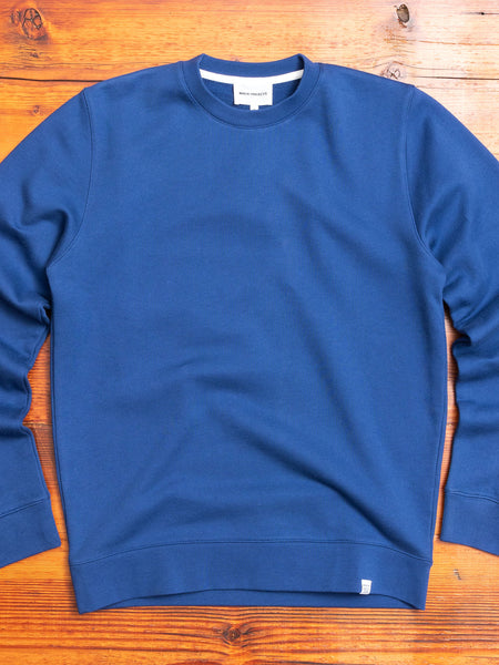 Vagn Crewneck Sweater in Twilight Blue