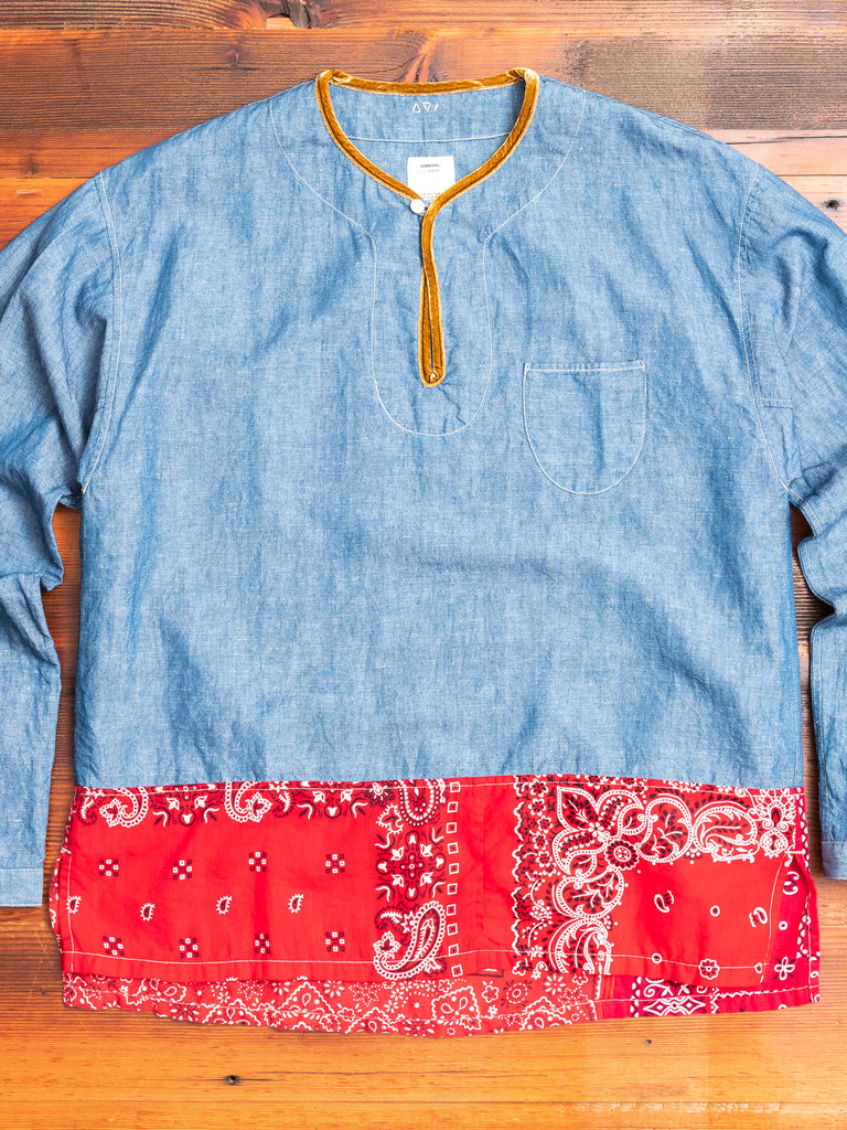 SS Border Tunic P.O in Blue