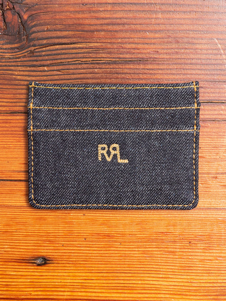 Denim Cardholder in Indigo