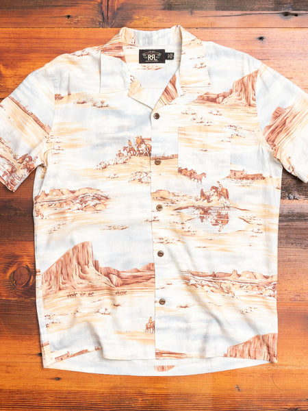 Southwestern Camp Shirt in Multi