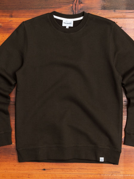 Vagn Crewneck Sweater in Beech Green