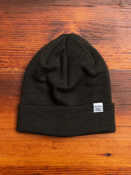 Norse Top Beanie in Beech Green