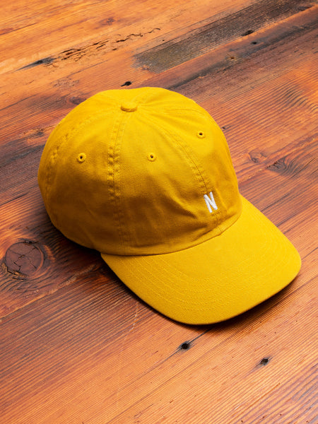 Twill Sports Cap in Montpellier Yellow